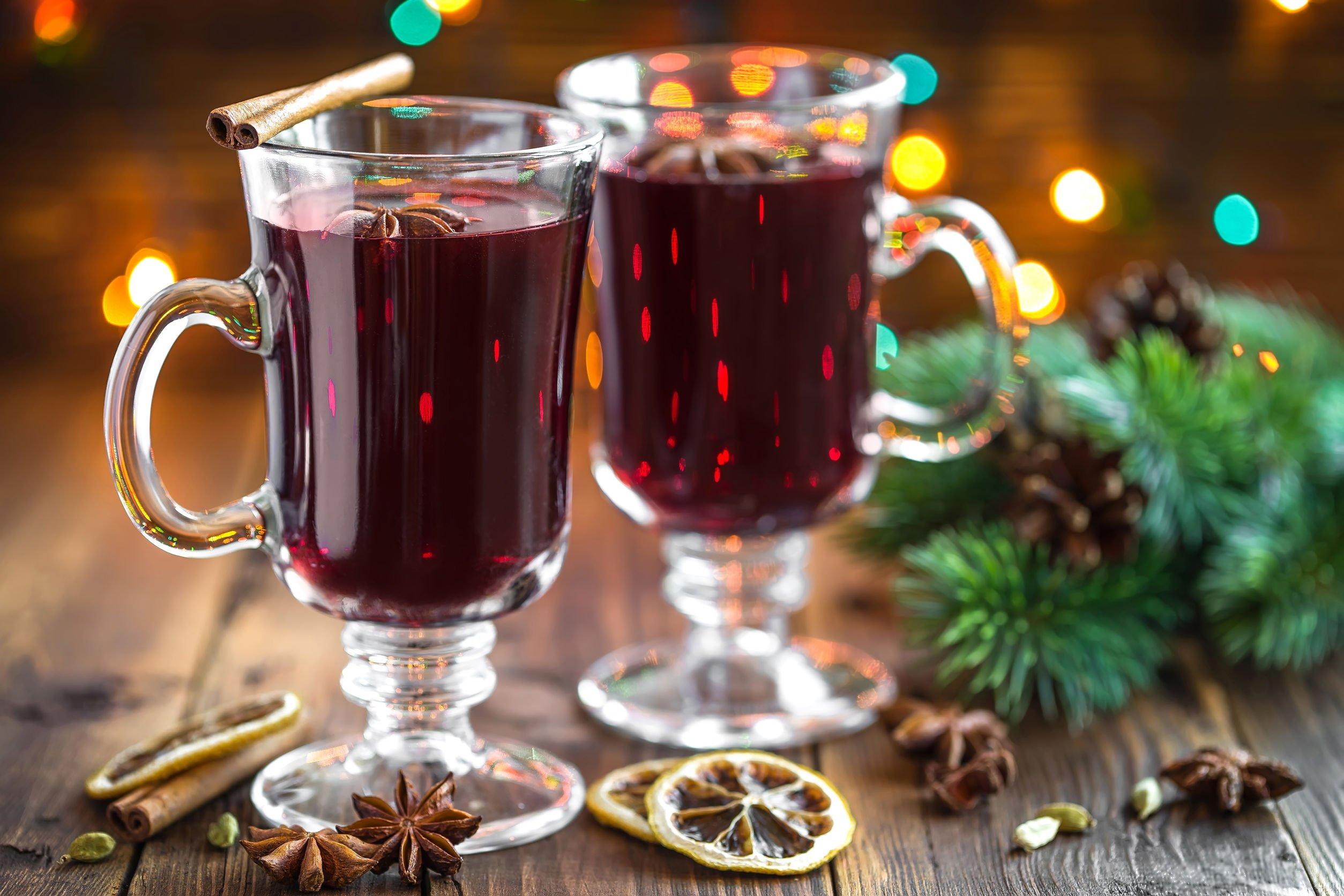 Horký drink pro zimní dny.