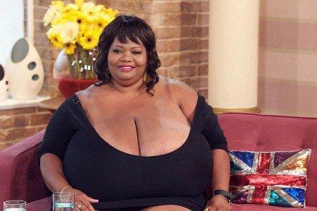 Norma Stiz má největší prsa na světě