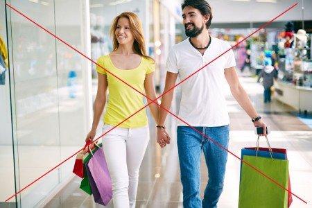 Nakupování v neformálním oblečení? Ne!