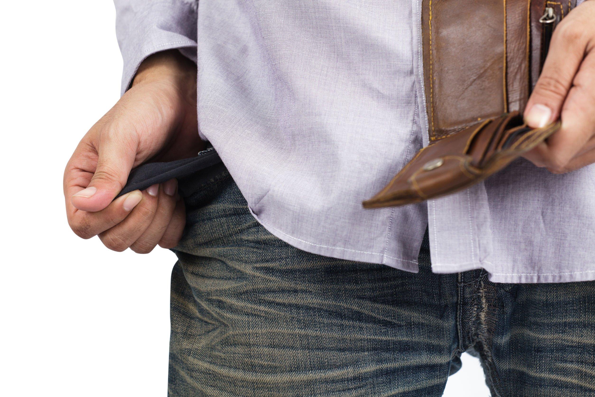 Peněženka v bezpečí