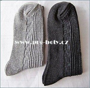 Pánské zimní ponožky Zdroj: Pro-boty.cz