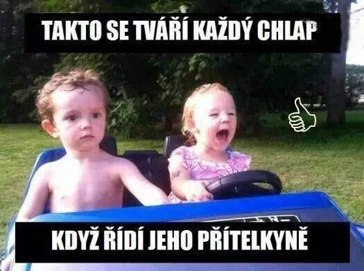 Když řídí přítelkyně