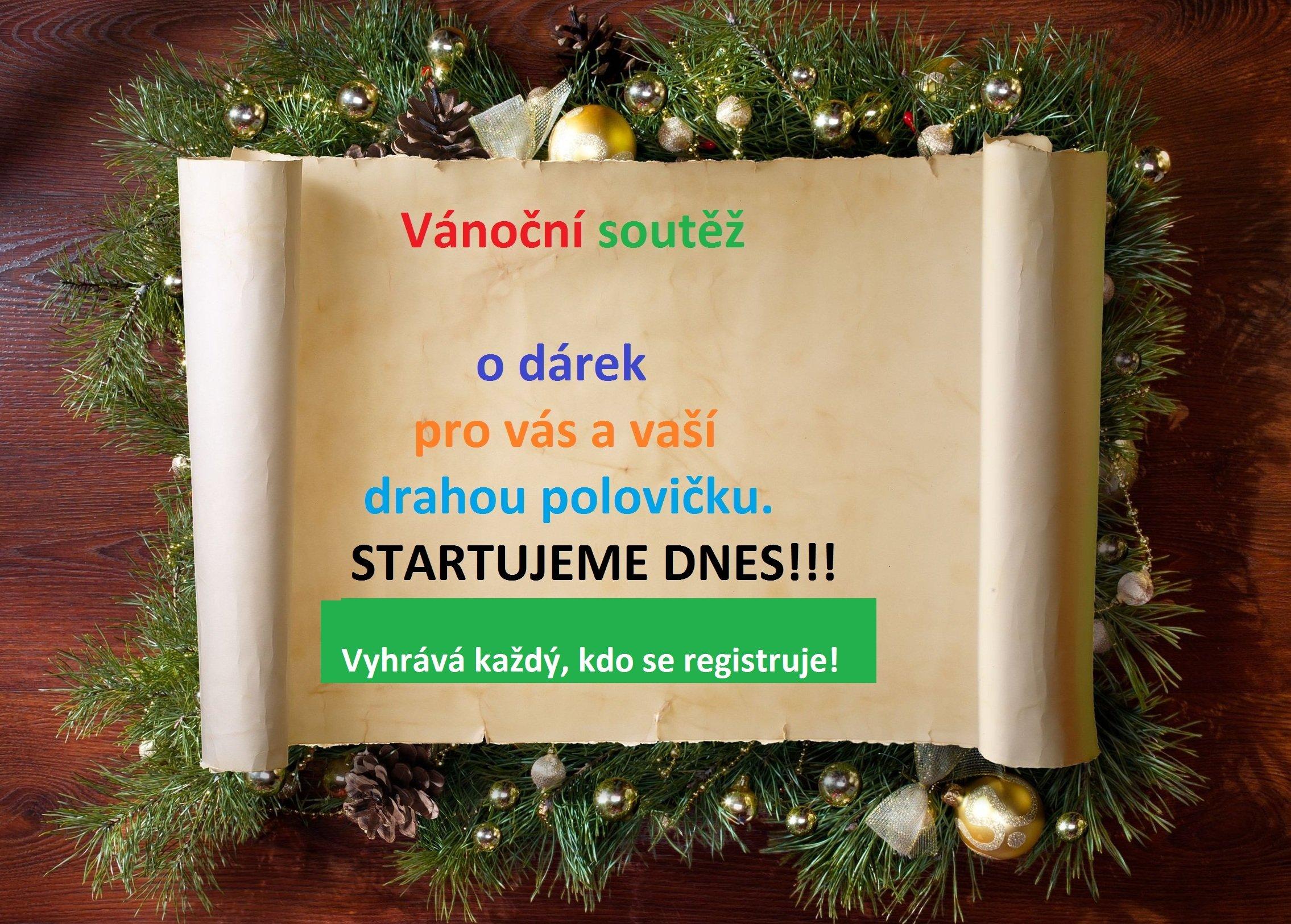 Vánoční soutěž o dárek pro dva