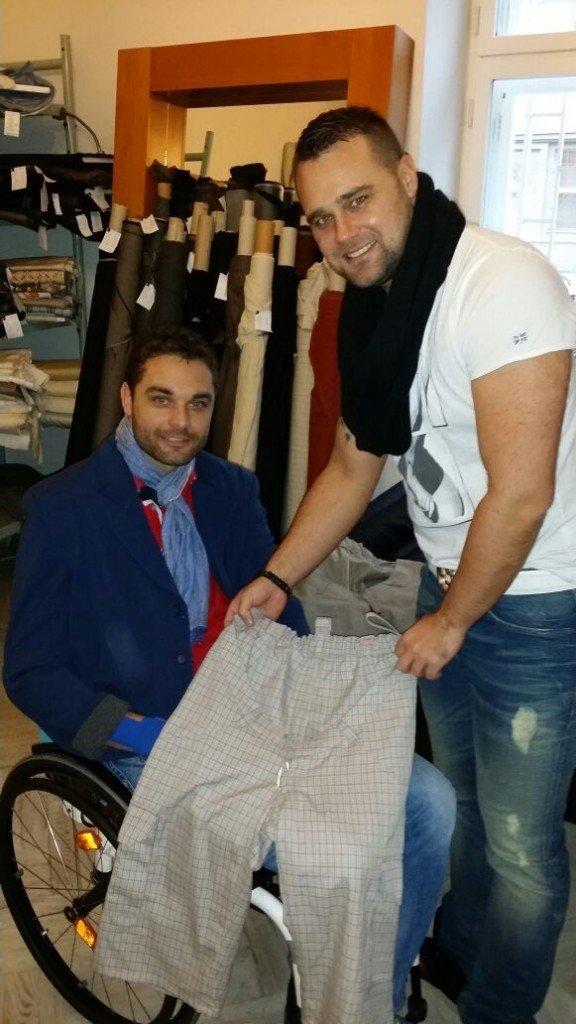 Kolekce oblečení pro vozíčkáře