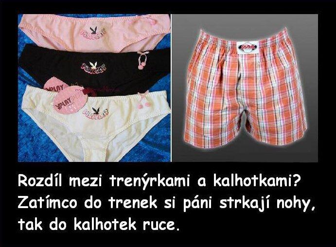 Kalhotky, co s nimi dělají muži?