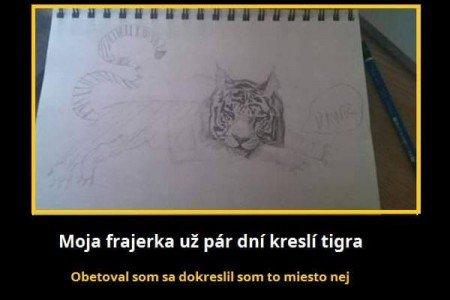 Přítel pomohl partnerce s dokreslit obrázek