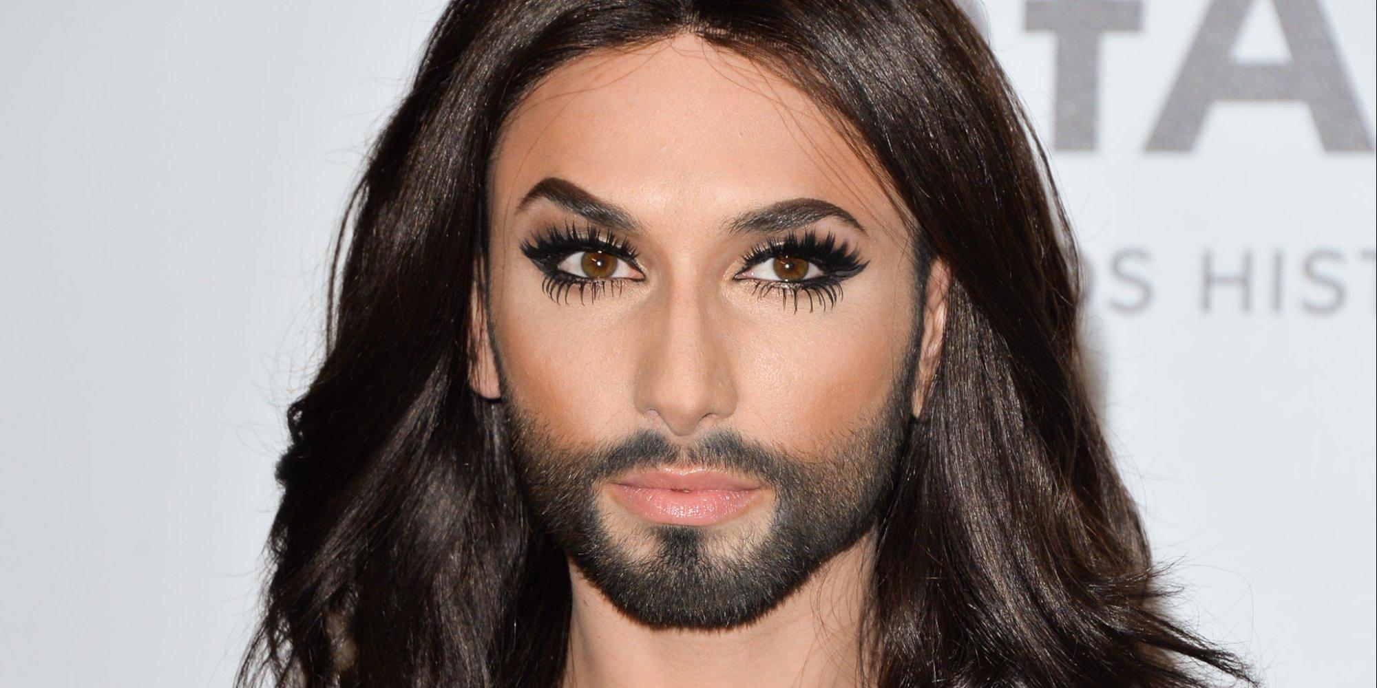 Výsledek obrázku pro foto vousatá zpěvačka eurovize