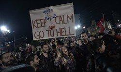 Demonstrace jsou v Athénách oblíbenou kratochvílí (Zdroj: Blue-point-trading.com)