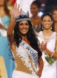 Miss World 2009 snad Anetě z oka vypadla. Foto: Pinterest