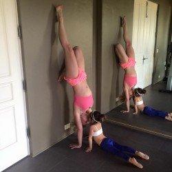 Britney a jóga