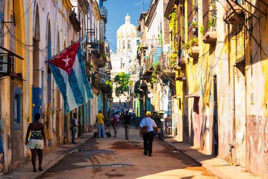 Možná navštívíme ulice Havany