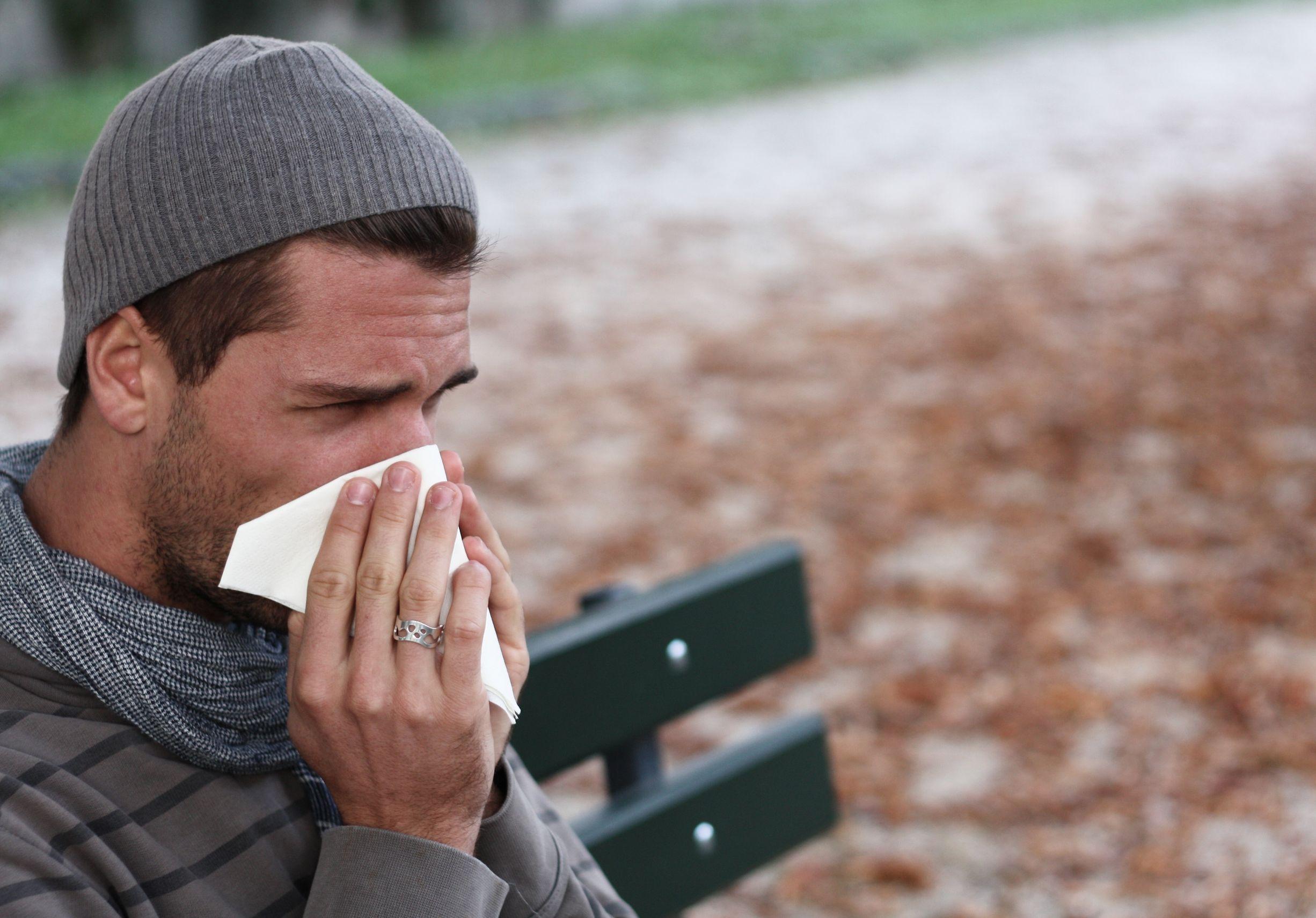 alergie na chlad
