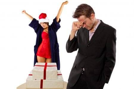 stres a vanocni nakupy