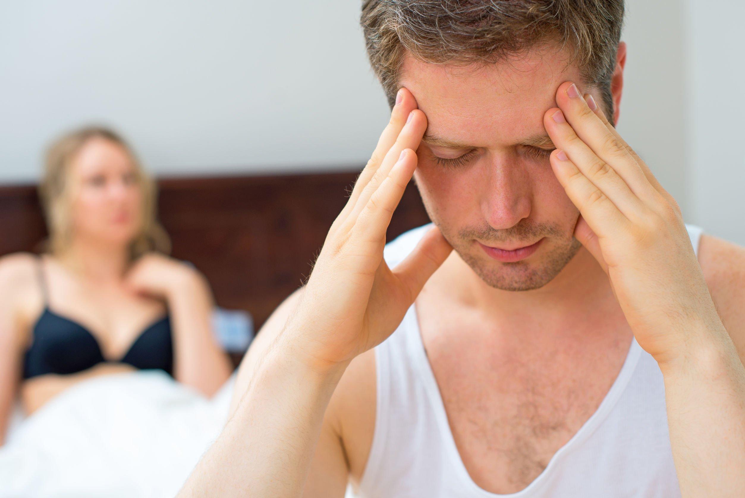 chlap sex a bolest hlavy
