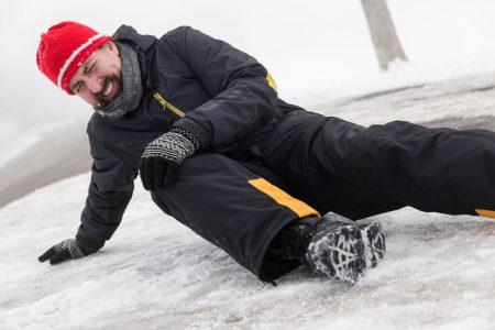 uraz na ledu