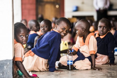 pomoc dětem v Keni