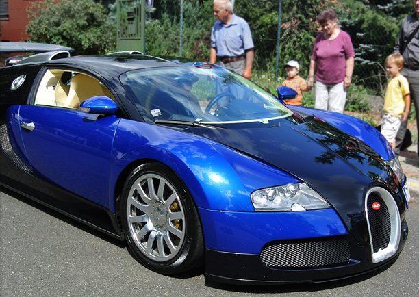 Radim Passer a Bugatti Veyron