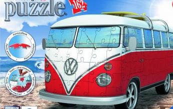 VW T1 model 3D puzzle