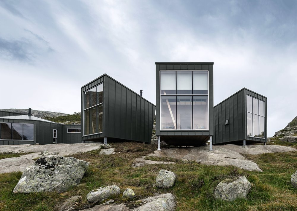 norský styl a divočina
