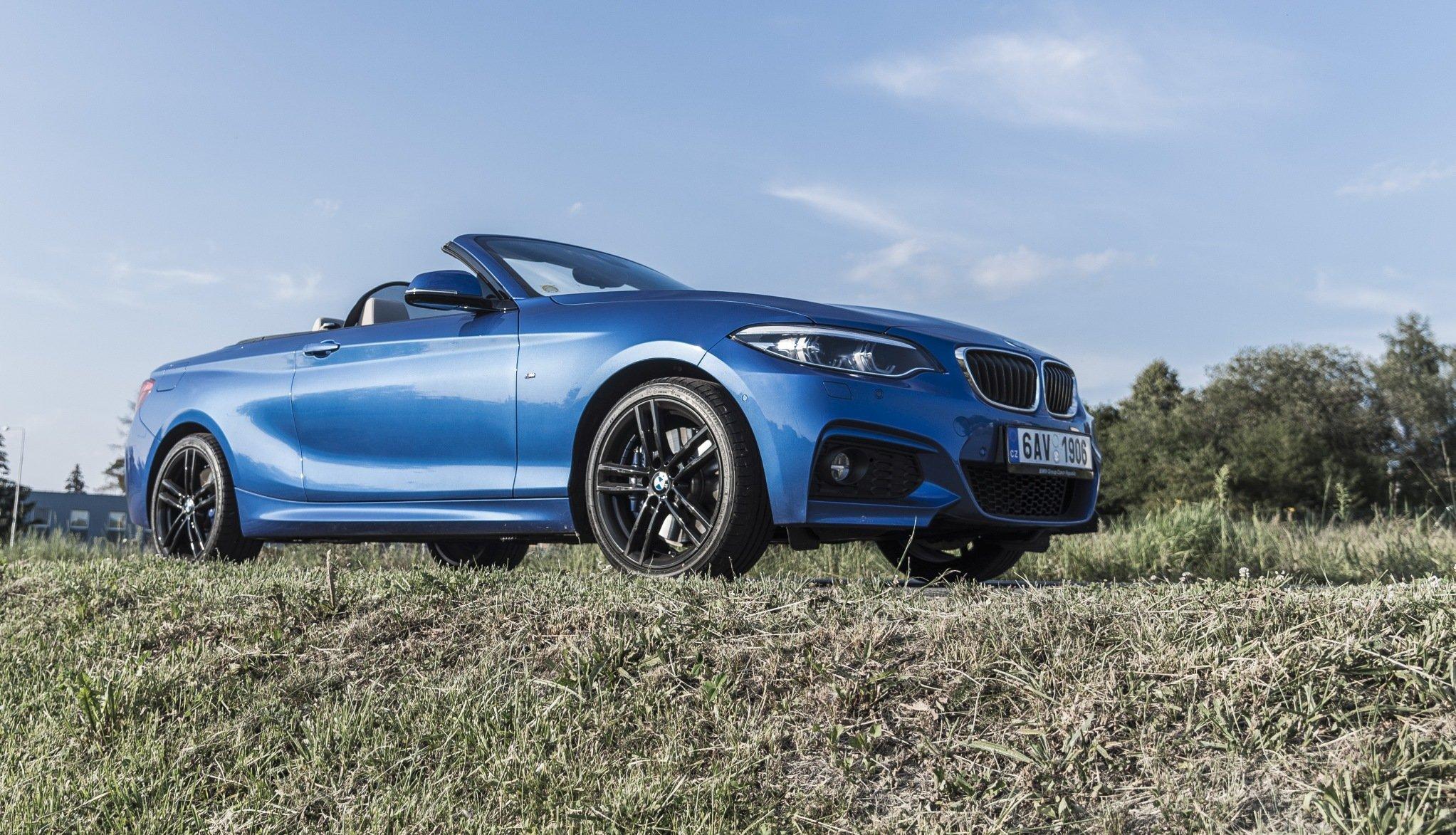 Redakční autotest: BMW 230i Cabrio - letní jízda