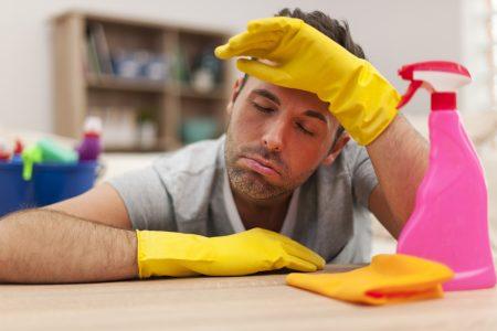 Jak efektivně na úklid doma?