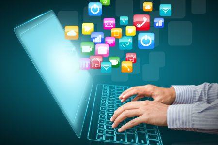 aplikace a zprávy