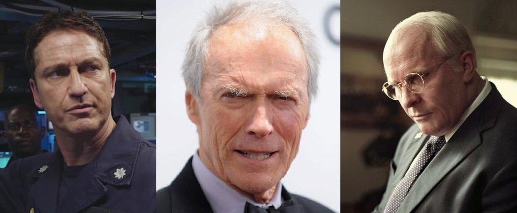 Gerard Butler jako kapitán jaderné ponorky, Clint Eastwood v roli nejstaršího pašeráka na světě, a Christian Bale jako americký viceprezident Dick Cheney.