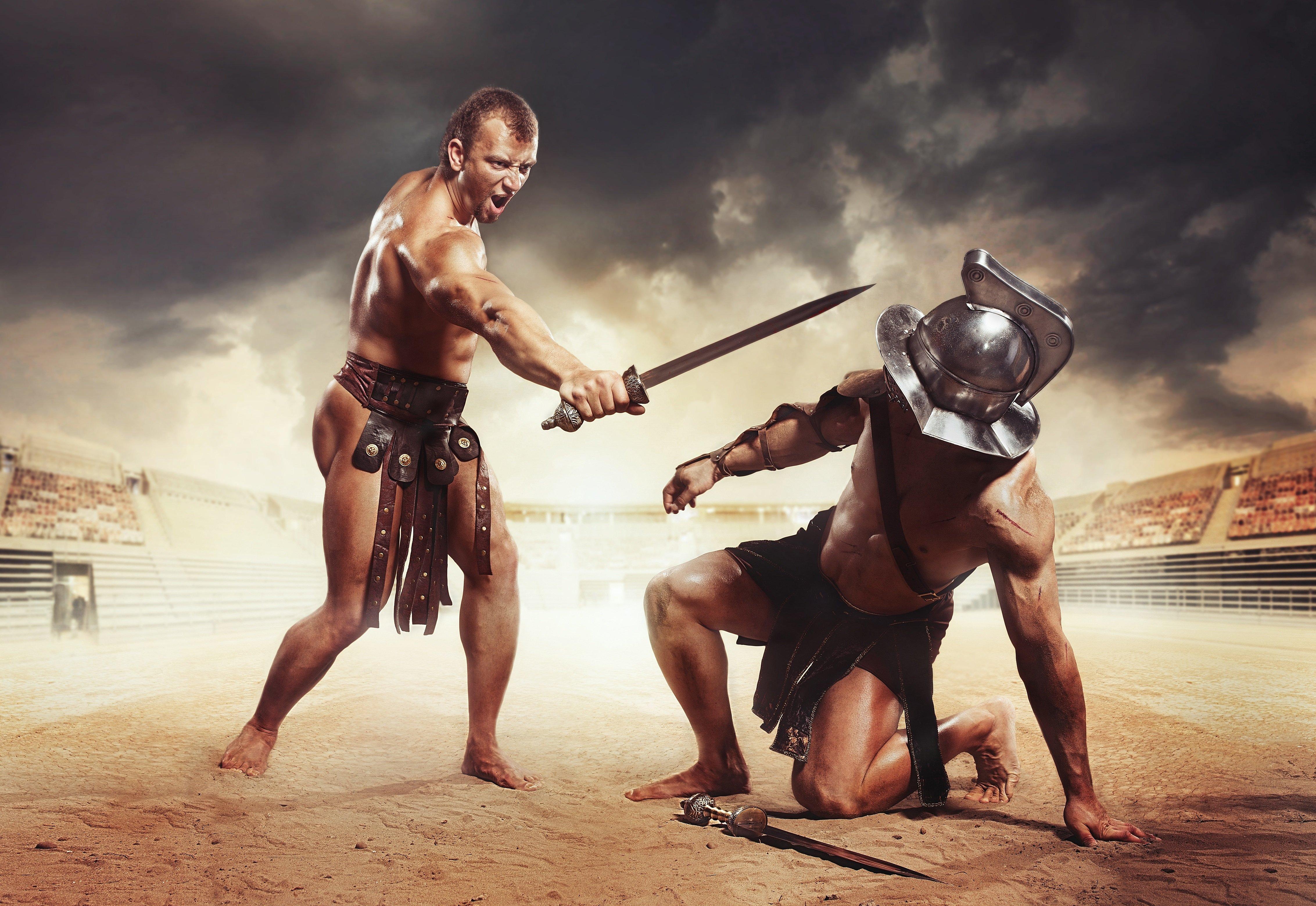 Gladiátoři mohli přežít i prohraný souboj