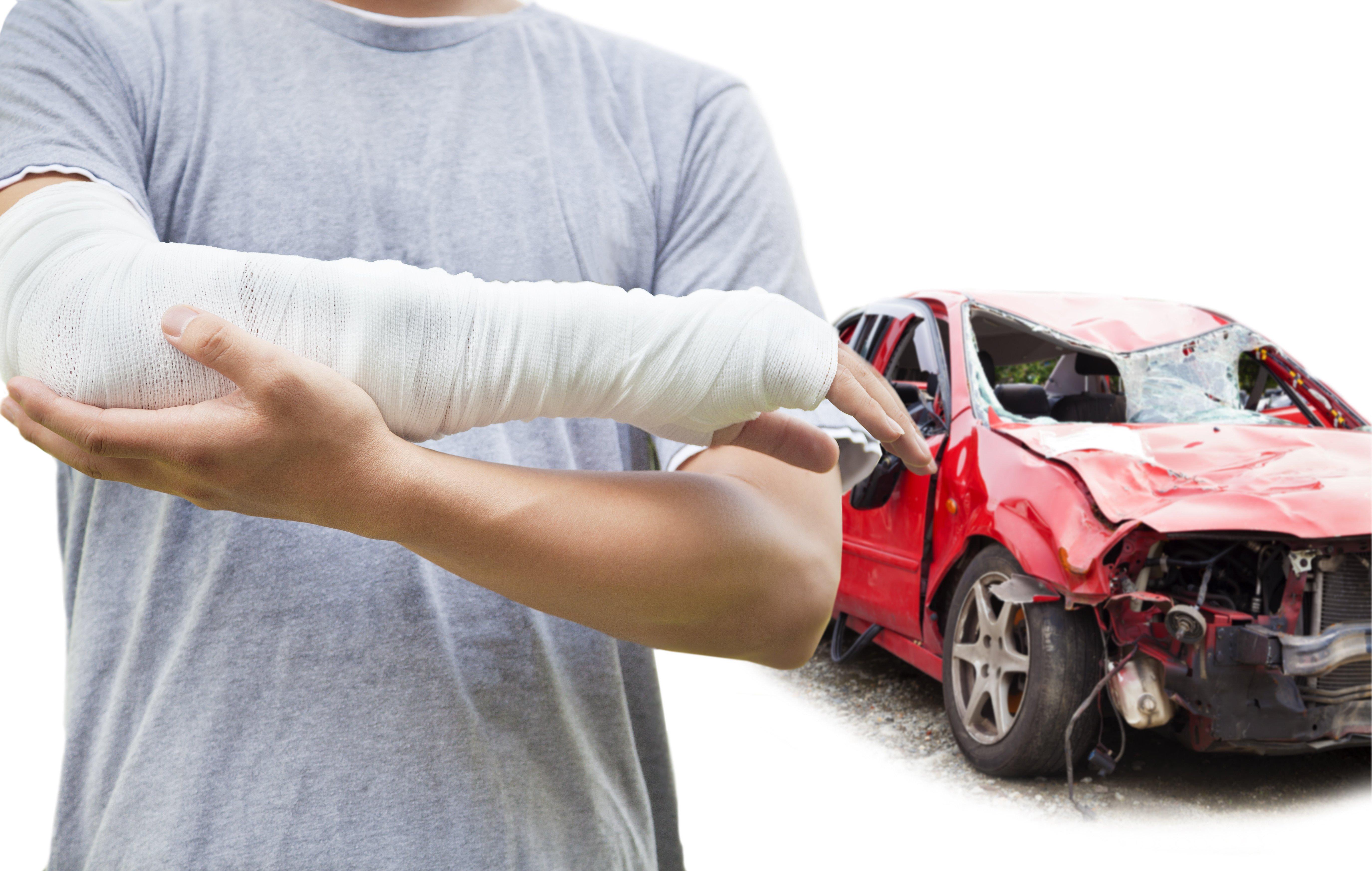 odškodnění za autonehodu