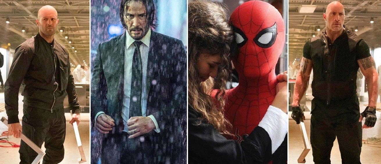 Rychle a zběsile: Hobbs a Shaw, John Wick 3, Spider-Man: Daleko od domova