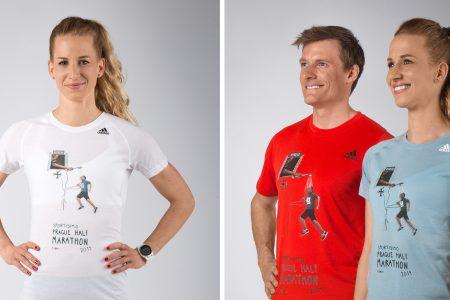 Autorkou triček adidas pro RunCzech 2019 je Eliška Podzimková