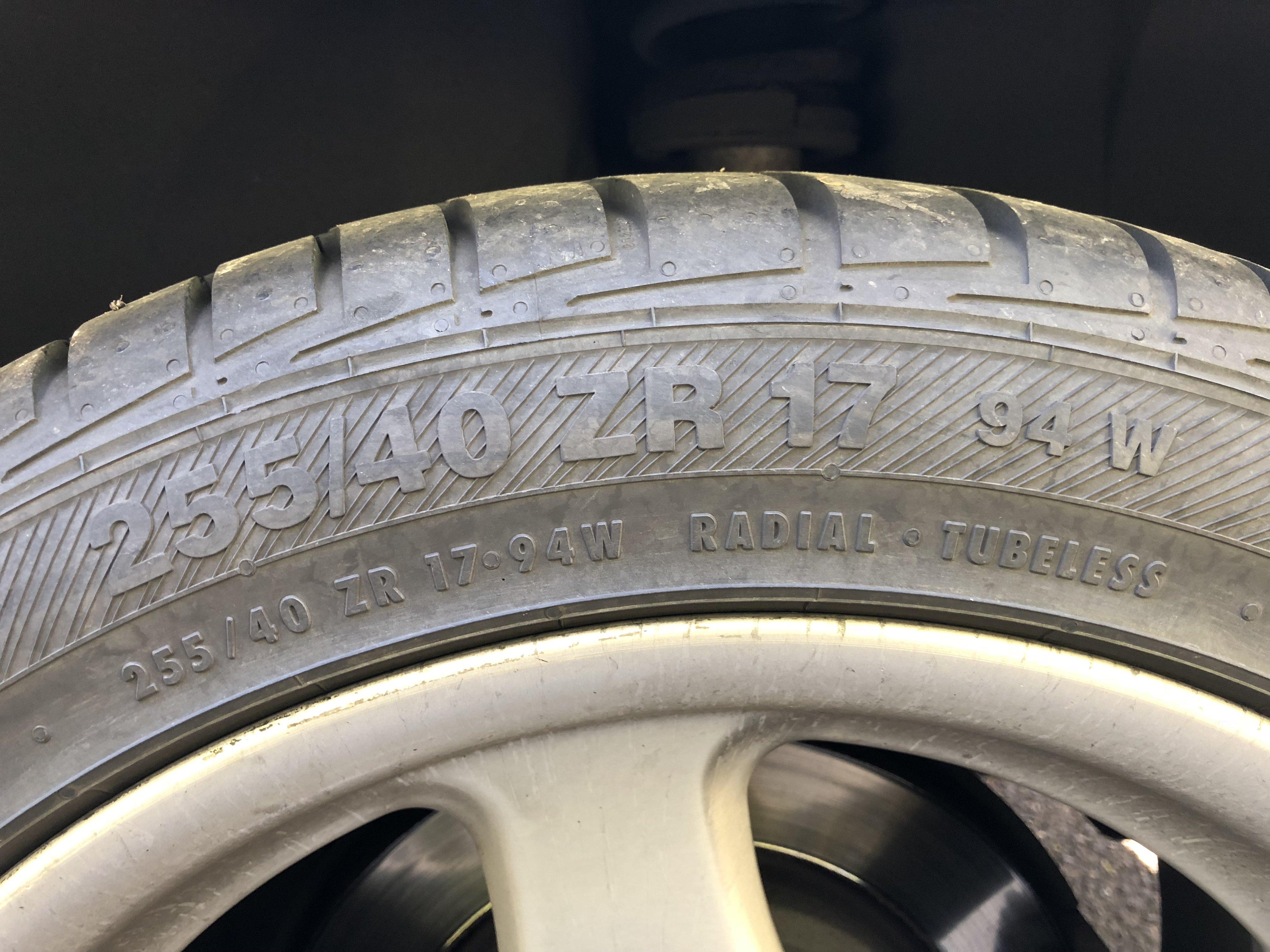 Značení pneumatik