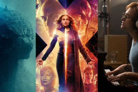 Filmové novinky - Godzilla 2, Rocketman, X-Men: Dark Phoenix
