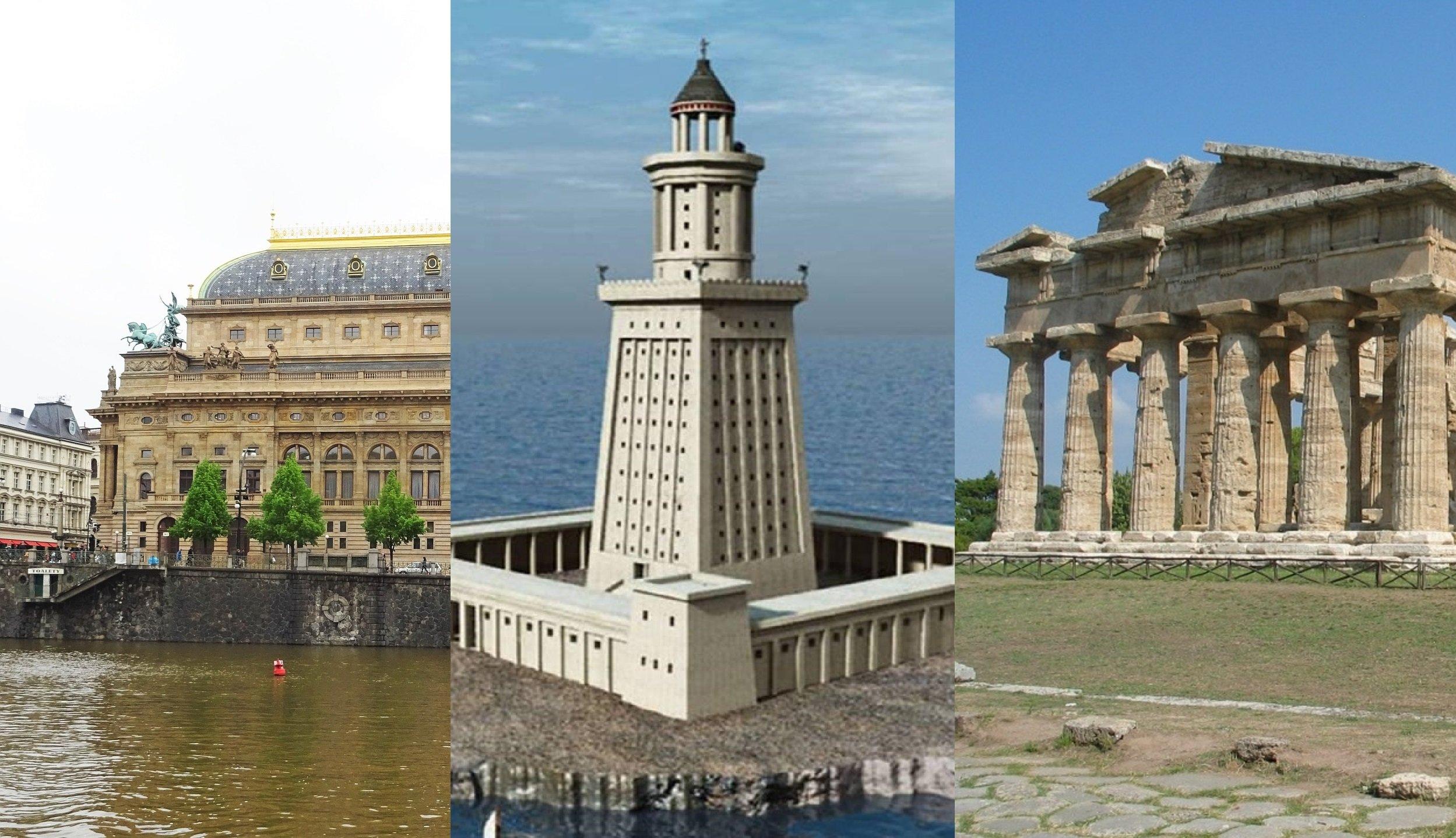 Jaké další světoznámé stavby podlehly zkáze