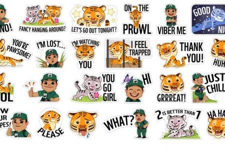 Viber podporuje šíření informací a sbírku vrámci Mezinárodního dne tygrů