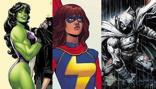 Ms. Marvel, She-Hulk a Moon Knight od Marvelu oficiálně potvrdil Disney
