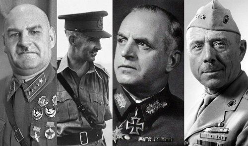 Nejhorší generálové II. světové války. Na tyhle se nevzpomíná v dobrém