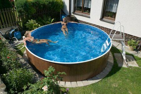 Zazimování bazénu. Jak zazimovat nadzemní bazén krok za krokem