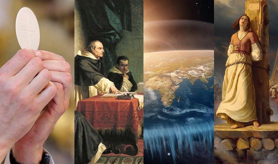 Historická fakta nebo propaganda? Církev na placatou Zemi nevěřila
