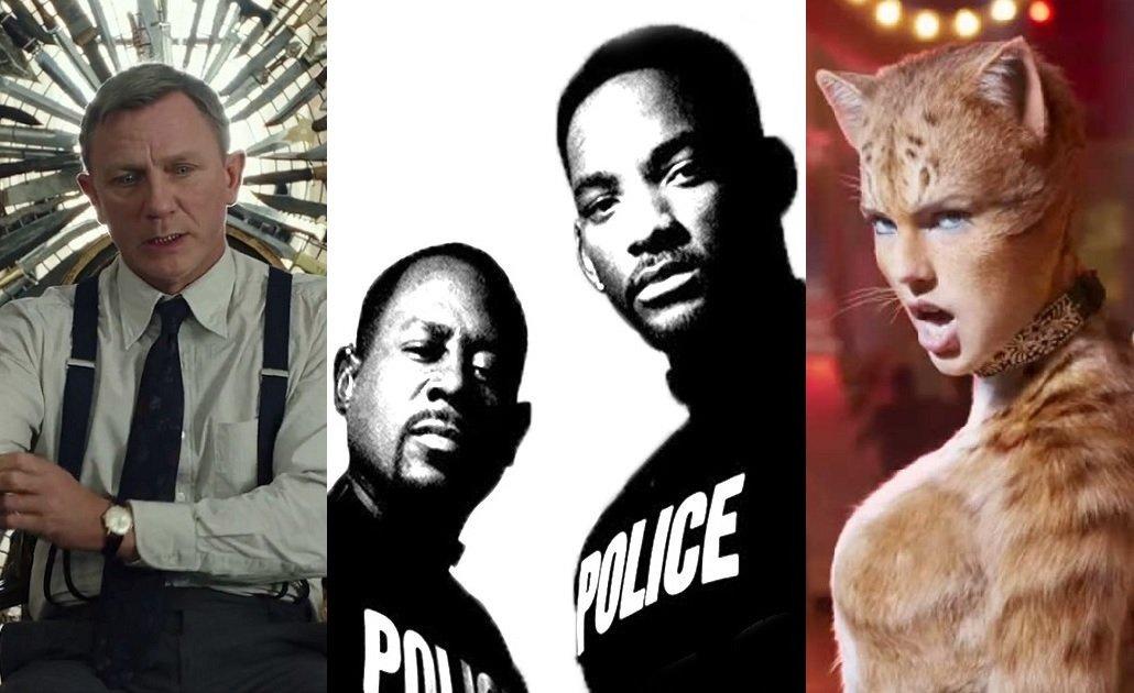 Leden 2020 vkinech: sexy Cats, krimi komedie Na nože a třetí Mizerové