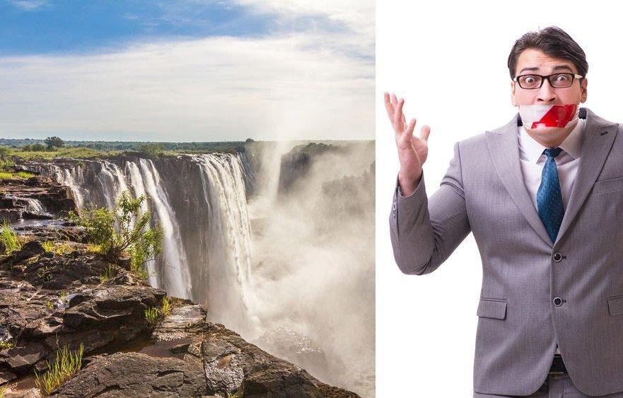 Jak Viktoriiny vodopády zase jednou nevyschly. Klima-náboženství v akci